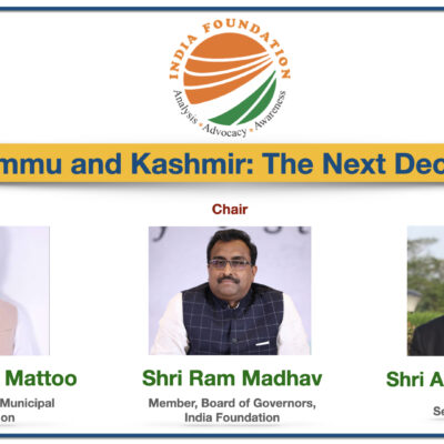 Jammu and Kashmir: The Next Decade – IF Specials Discussion
