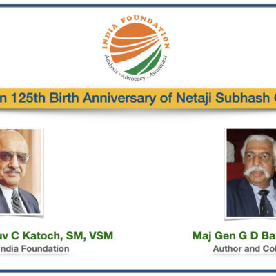 IF Specials: A conversation on Netaji Subhash Chandra Bose with Maj Gen GD Bakshi, SM, VSM