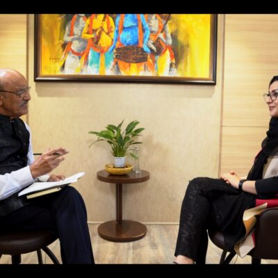 IF Chats – Afghanistan post the Withdrawal of US Forces: An Interview with Ms Naheed A Farid