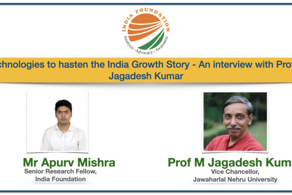 IF Chats – Technologies to hasten the India Growth Story: An Interview with Prof. M. Jagadesh Kumar
